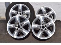 "GENUINE FORD FOCUS 16"" ZETEC ALLOYS"