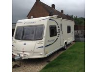 Bailey pageant series 7 sancerre 4 berth fixed bed
