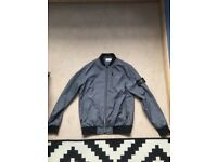 Stone Island Mens Grey Jacket In Size Medium Open To Offers