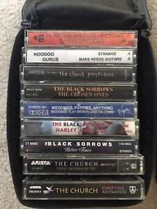 Cassettes, misc but primarily Australian groups from 1980s-90s