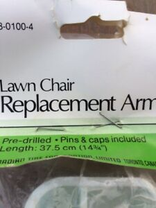 Lawn Chair Replacement Arms