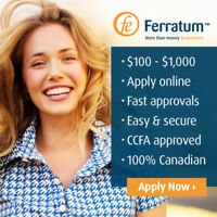 $100 to $1,000 Online Cash Loans: Deposited To Your Bank