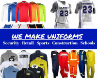 We make sports uniforms and much more!