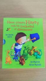 Harry and his bucketful of dinosaurs stories and CD