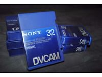 BRAND NEW SONY PDVM 32MIN TAPES FOR SALE