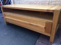 Oak tv cabinet or side unit