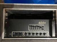 MESA BOOGIE 400+ Bass all valve head & Flight Case
