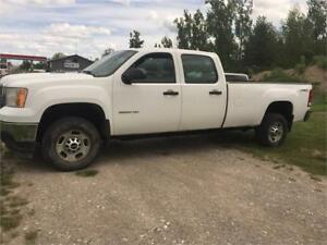 2011 GMC Sierra 2500HD, 4x4, Long Box