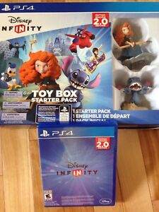 PS4 Disney Infinity Toy Box Starter pack