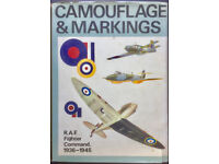 Camouflage & Markings: RAF Fighter Command Northern Europe, 1936 - 1945