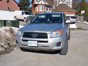 I have in great condition 2010 toyota rav4