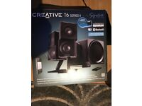 Speakers- Creative T6 series 2 - Loud Sub Woofer- Powerful system for Gaming or home entertainment