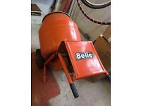 Belle minimix cement mixer