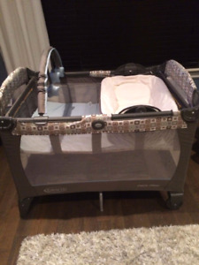 Graco Playard with napping/changing station