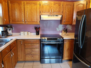 New-To-You Oak Cabinets