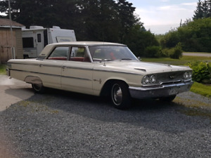 Antique 1963 Ford Galaxy 500