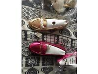 Next Size 2 shoes brand new gold and pink