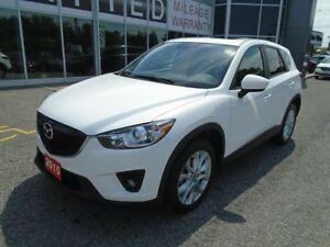 2015 Mazda CX-5 **NAV, HID LIGHTS & LEATHER!** LOADED GT AWD