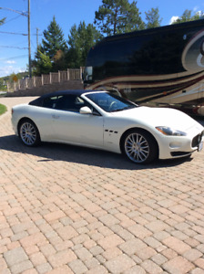 2011 Maserati Gran Turismo Blue Leather Convertible