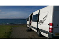 Mercedes Sprinter Motorhome/Camper with large garage/storage area
