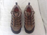Merrell walking shoes size 8