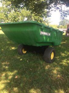 John Deere dump trailer