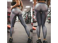 Leggins Push up Shape up microfiber M