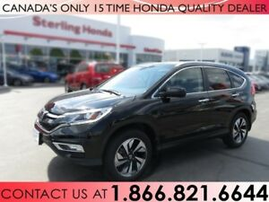 2016 Honda CR-V TOURING, AWD, PROTECTION PKG. 1 OWNER, NAVI