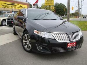2009 Lincoln MKS AWD,NAVIGATION,PANORAMIC ROOF,ACCIDENT FREE