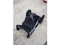 Mothercare baby Travel System for baby - pram, baby carrier & car seat with baby cover