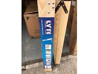 Lyte fully assembled pull down loft ladder.