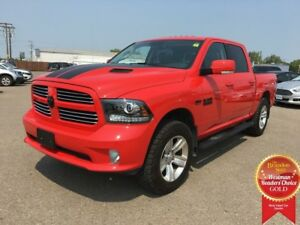 2016 Ram 1500 Crew Cab Sport 4WD *Navigation* *Backup Camera* *H