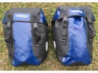Ortlieb Classic Panniers with Tortec Mounting Rack
