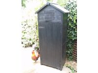 Sentry Box Garden Tool Store Shed