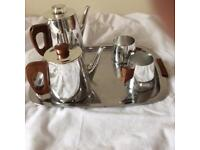 Vintage Sona tea and coffee set. 1960s