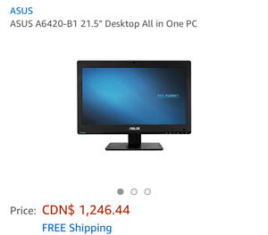 "AsusA6420-B1 21.5"" Touchscreen Desktop all-in-one PC"