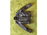 Unisex Leather bike Jacket