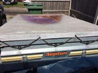 Neptun Tipper Trailer - Fully Galvanised - A frame
