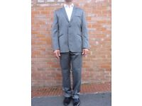 TED BAKER Mens suit - Silver / Grey