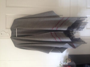 Roots long wrap / blanket sweater one size fits all
