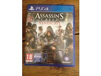 PS4 Assassin's Creed : Syndicate , includes DLC.