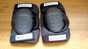 Roller Blades Knee Pads Like New Large