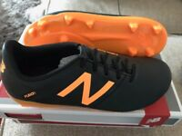 Kids' New Balance Furon football boots size 2 BRAND NEW IN BOX