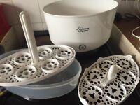 Tommee tippee steriliser . Partly new
