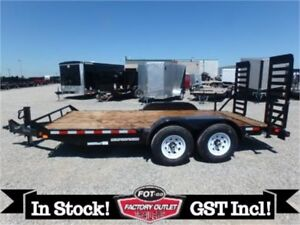 14K - 7 X 16 Equipment Hauler by Canada Trailers -*TAX IN!*-