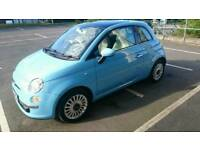 2013 (OCT) FIAT 500 Lounge With Low Mileage And Immaculate Condition. Beautiful Colour.