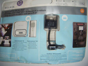Belkin Ipod Home and Car Kit for sale..