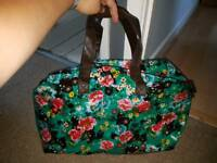 Paperchase oil cloth overnight bag