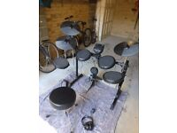 Alesis DM6 Electronic Drum Kit including Stool, Headphones, and Drum Sticks