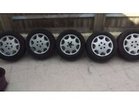 Mercedes Benz Rims and tyres to fit 380SL 1984 onwards